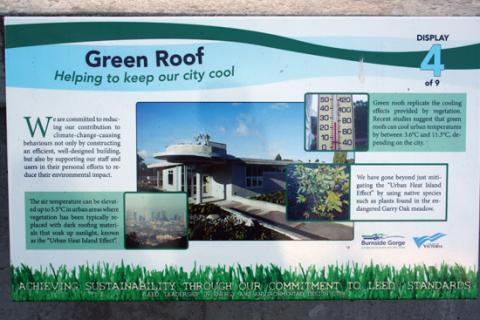 burnside gorge community centre green roof
