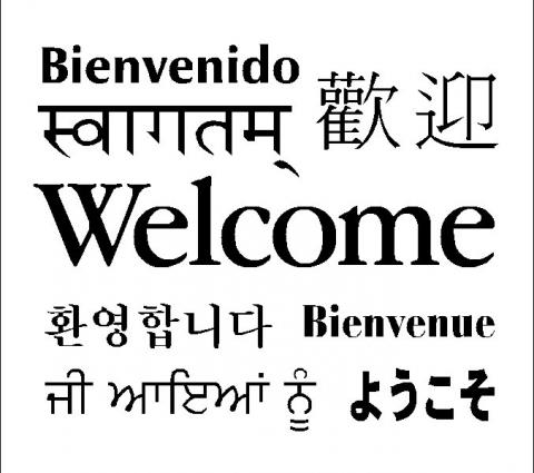 multilanguage welcome