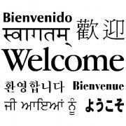 multilanguage welcome