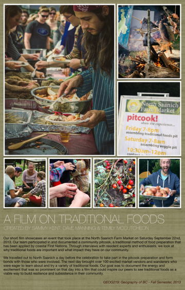 Traditional Foods Video poster