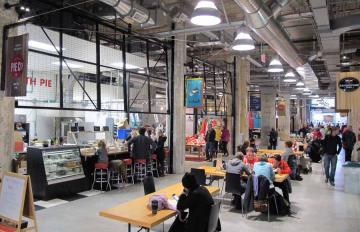 the Victoria Public Market, Victoria, BC